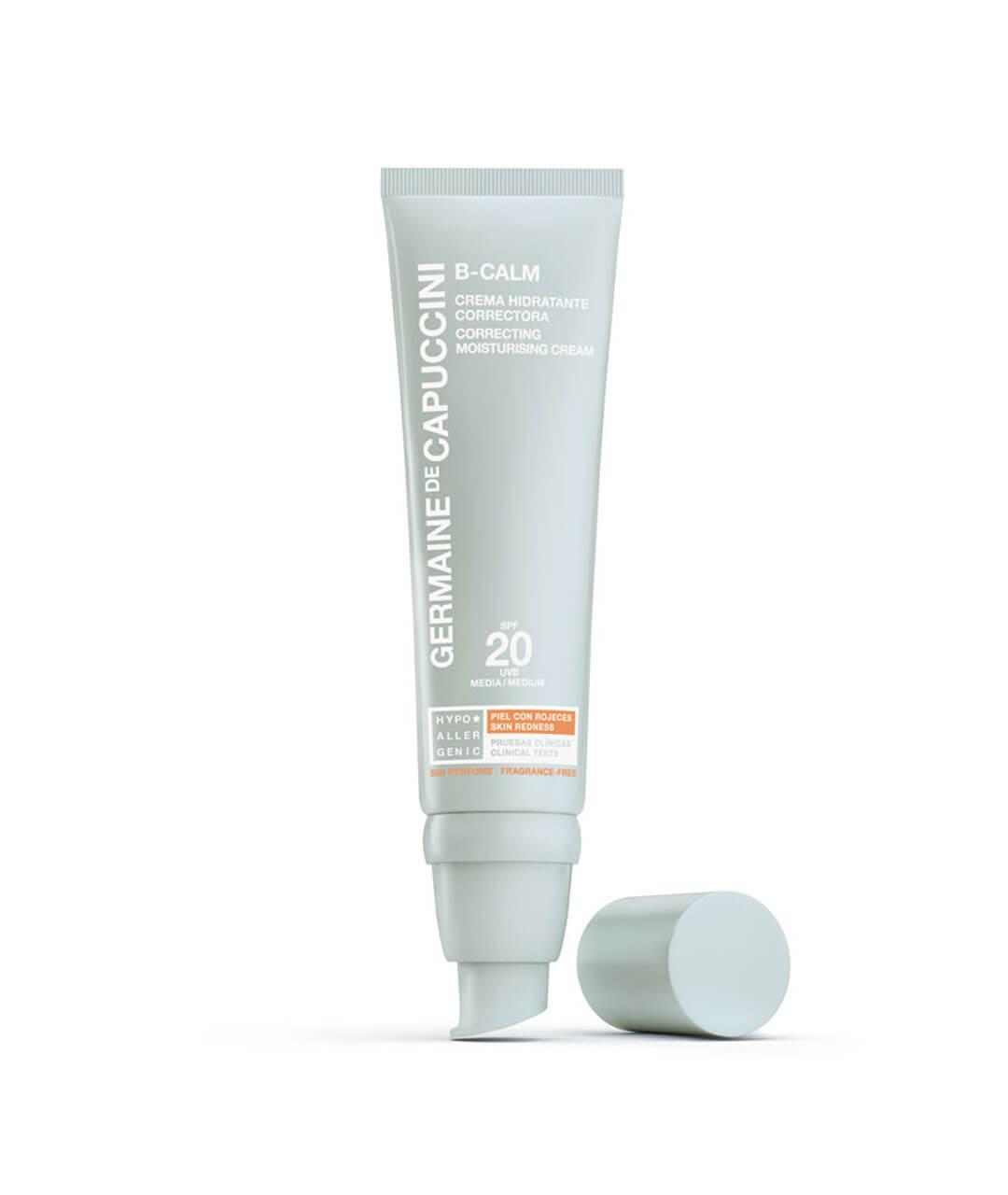 BCalm Crema Hidratante Correctora SPF 20 (pieles con rojeces)